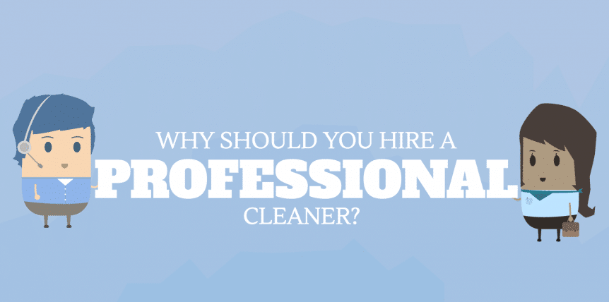 would you hire a professional cleaner?