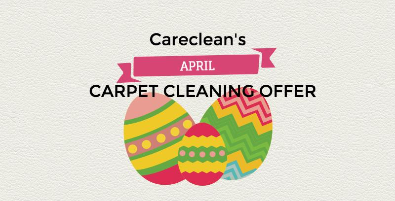 April carpet cleaning offer