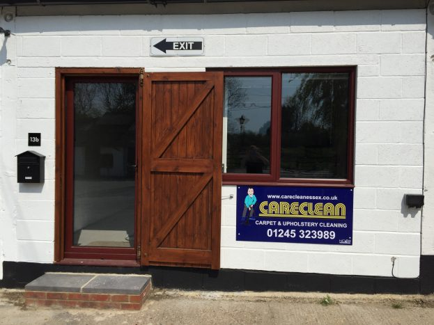 careclean office entrance