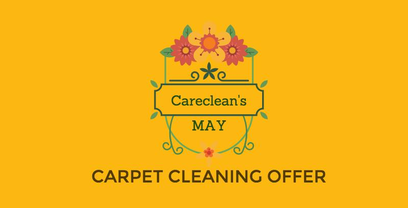 May carpet cleaning offer