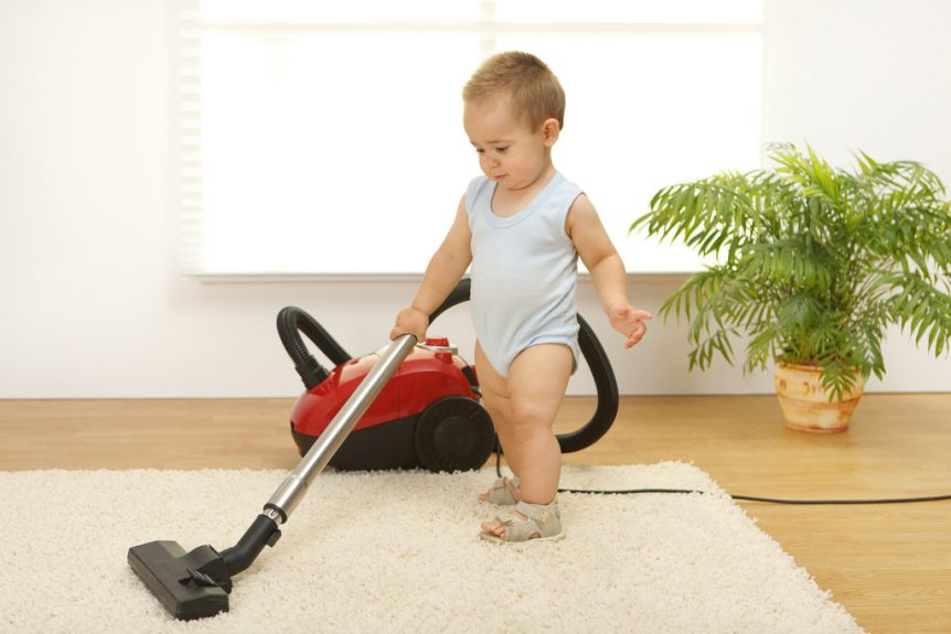 carpet cleaning baby