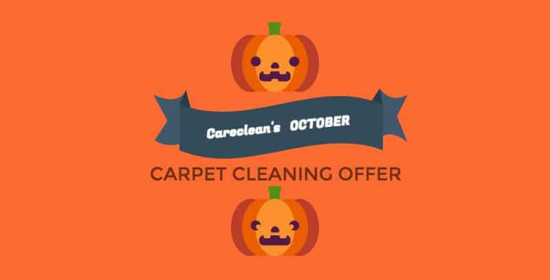 october carpet cleaning offers