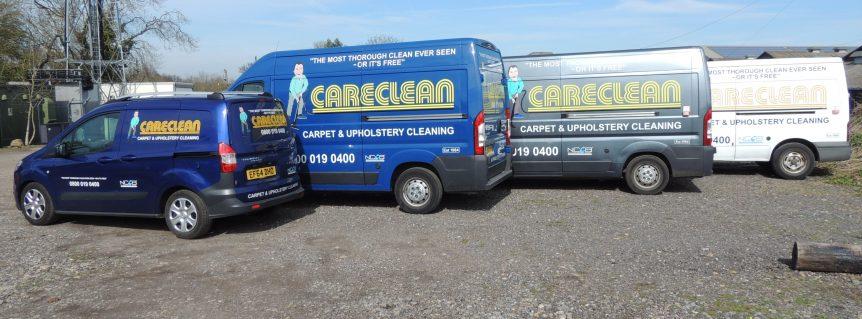careclean cleaning vans london